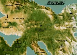 Karte Argonan